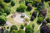 Nottingham Arboretum from the air.