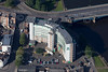 Aerial photo of Rushcliffe Civic Centre.