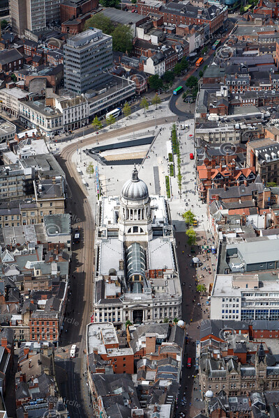 Aerial photo of the Council House.