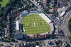 Aerial photo of Trent Bridge cricket ground.