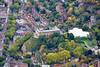 Aerial photo of Nottingham Castle-378