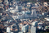 Nottingham City Centre from the air.