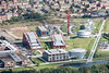 Aspire in Nottingham from the air.