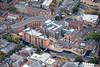 Aerial photo of Nottingham's Waterside.