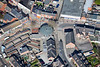 Front Street Arnold in Nottingham from the air.