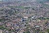 Nottingham from the air.