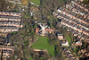 Green's Mill in Nottingham from the air.