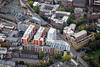Aerial photo of Nottingham Trent University.