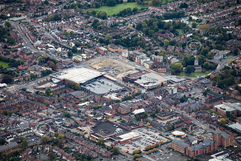 Aerial photo of Beeston.