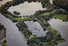 Aerial photo of Colwick Marina.