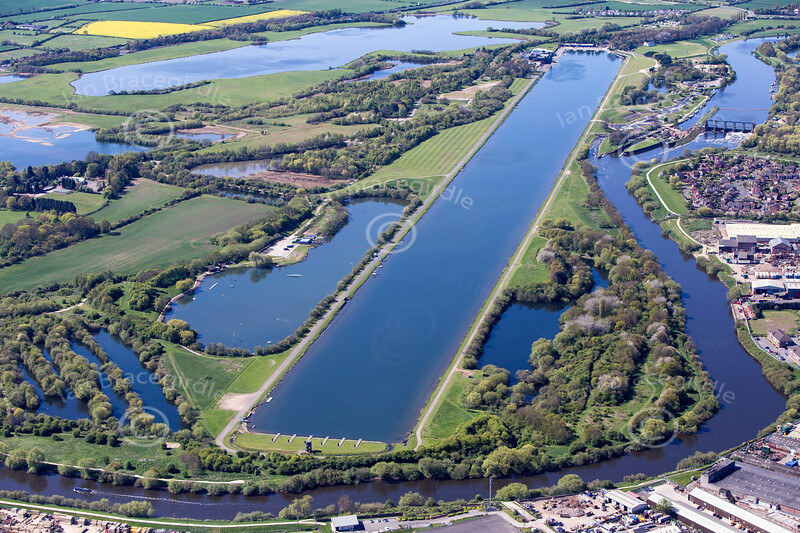 Holme Pierrepont from the air.
