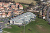 An aerial photo of Bilborough College in Nottingham.