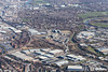Easter Park in Nottingham from the air.