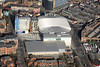 The Capital FM Arena in Nottingham from the air.