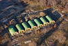 Proteus Army Camp from the air.