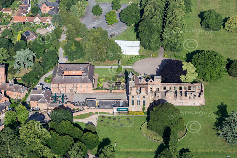 Aerial photo of Rufford Abbey-52