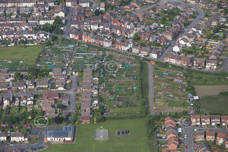 Aerial photo of Annesley.