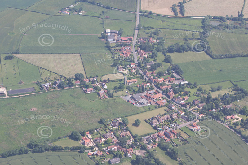 Aerial photo of Askham.