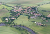 Aerial photo of Averham