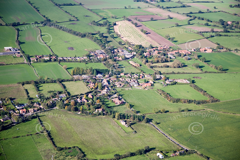 Aerial photo of Bathley.