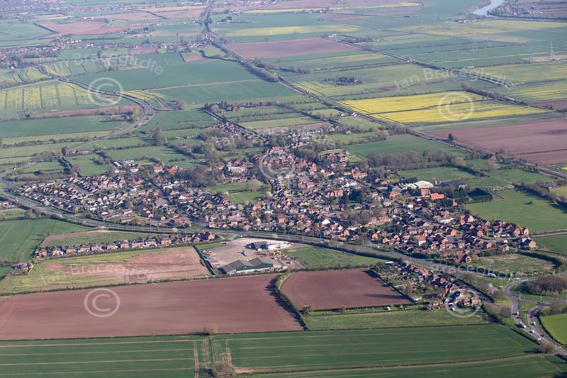 Aerial photo of Beckingham.