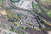 Aerial photo of Bestwood Village.