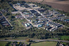 An aerial photo of Boughton .
