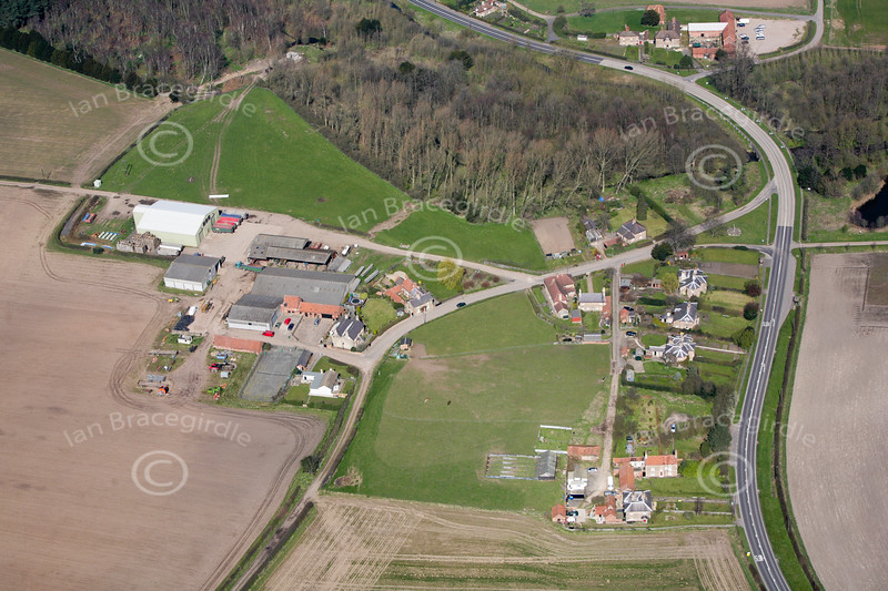 Budby from the air.