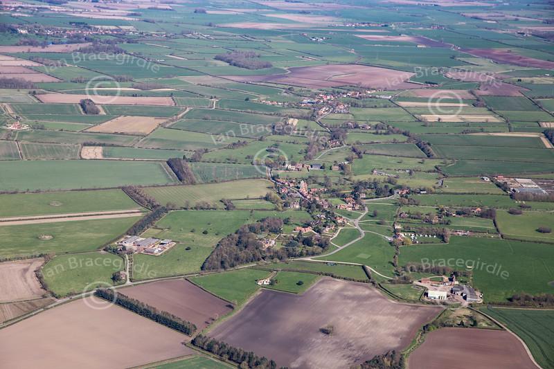 Aerial photo of Car Colston.