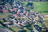 A stock aerial photo of Carlton On Trent