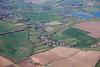 Aerial photo of Caythorpe.