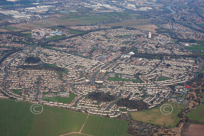 Aerial photo of Clifton.