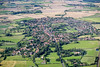Collingham from the air.