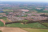 Aerial photo of Cotgrave.