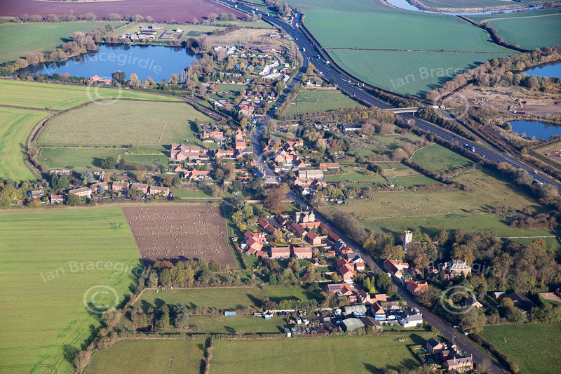 Aerial photo of Cromwell.