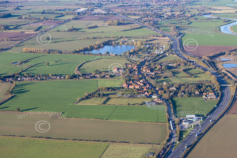 Aerial photo of Cromwell