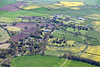Cropwell Butler from the air.