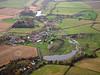 Aerial photo of Cuckney.