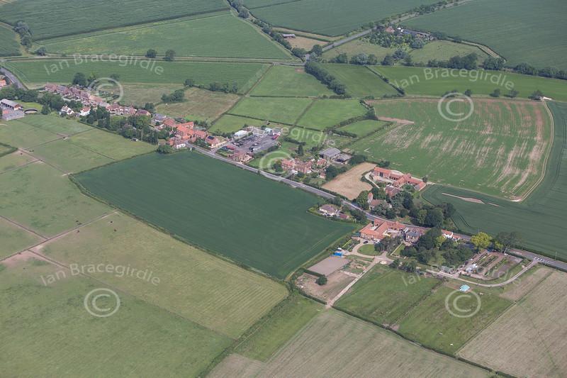 Aerial photo of Darlton.