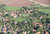 Aerial photo of Eakring.