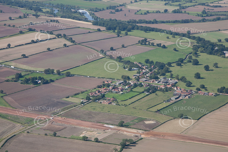 Aerial Photo of East Stoke