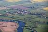 Aerial photo of East Stoke.