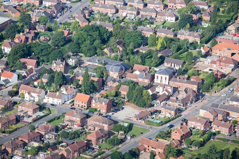 Aerial photo of Edwinstowe-53