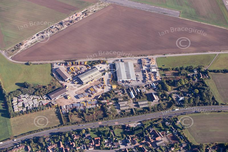 Aerial photo of Elkesley.