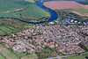 Aerial photo of Farndon.