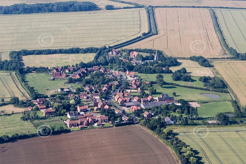 Aerial photo of Fenton