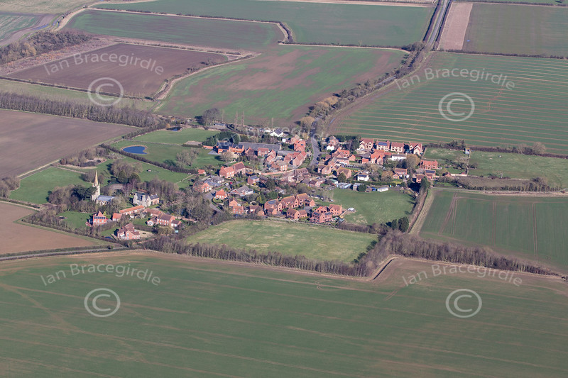 Aerial photo of Fenton.
