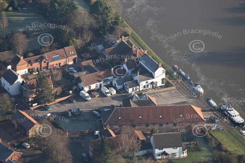 Aerial photo Fiskerton.