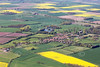 Flintham from the air.