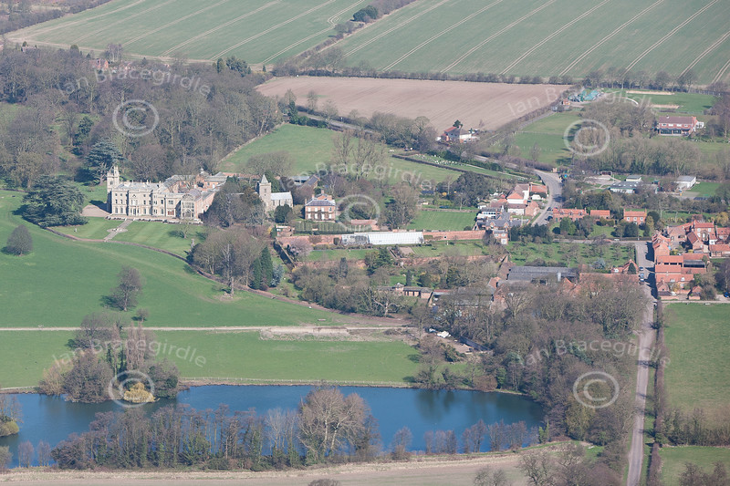 Aerial photo of Flintham.